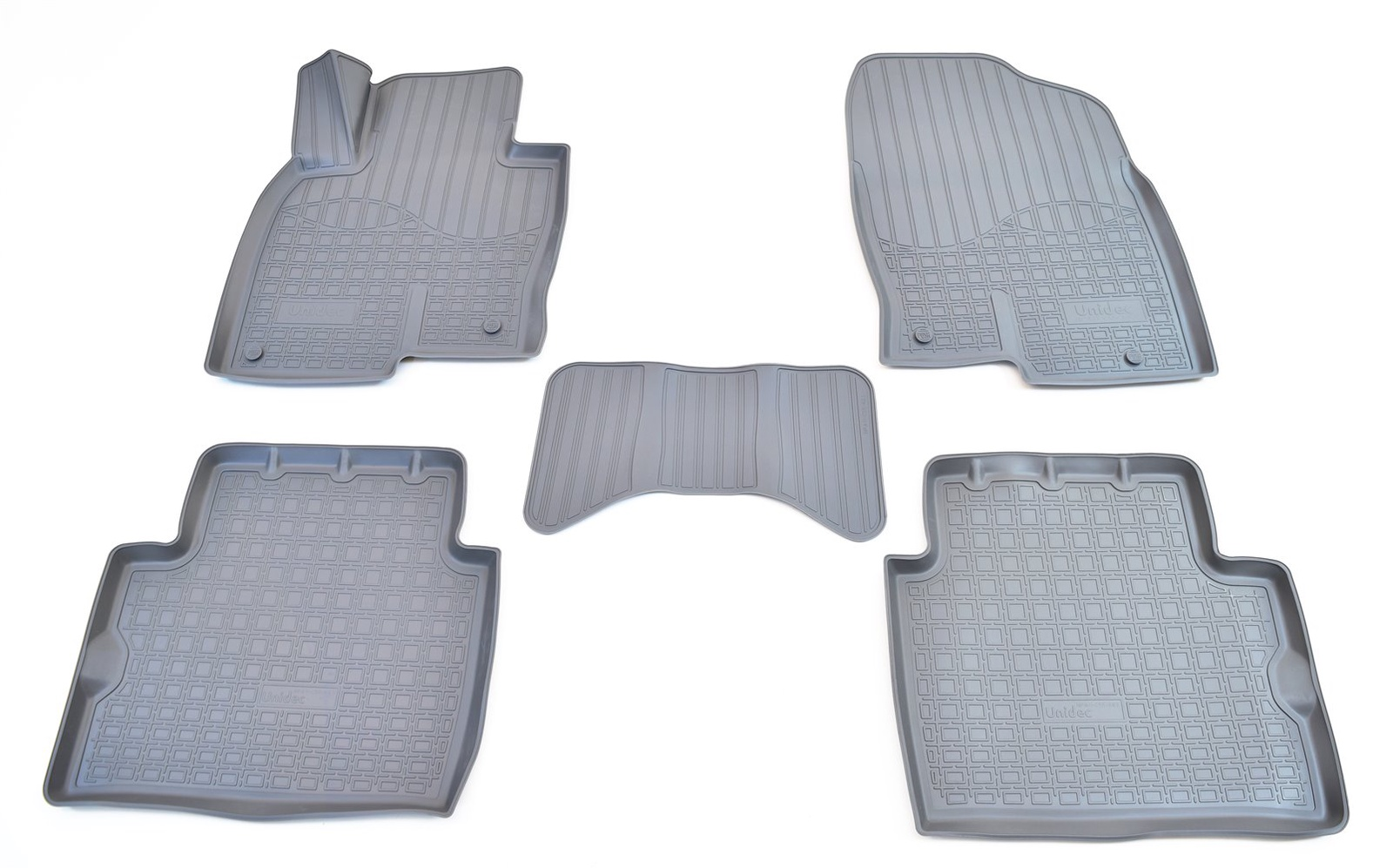 купить Коврики в салон автомобиля Norplast для Mazda CX-5 3D (2017), NPA11-C55-683-G, серый по цене 1990 рублей