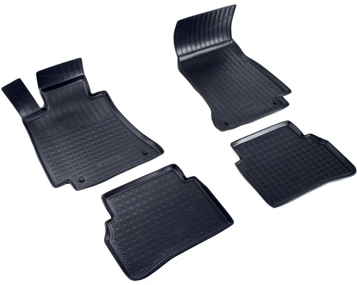Коврики в салон автомобиля Norplast для Mercedes-Benz C (W205) (2014), NPA10-C56-192, черный недорго, оригинальная цена