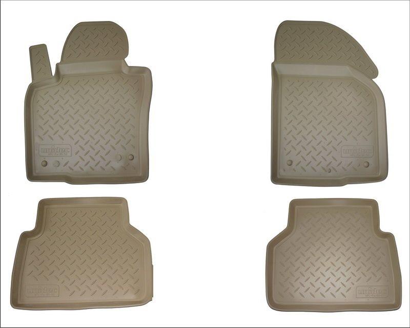 Коврики в салон автомобиля Norplast для Mercedes-Benz C (W205) (2014), NPA10-C56-192-B, бежевыйNPA10-C56-192-BТочное прилегание Без неприятного запаха Высокие бортики Не скользятПодходит на:Mercedes-Benz C-Class W205 2014--Полиуретановые автомобильные коврики фирмы «Норпласт» надежно защищают обшивку салона и багажника от влаги и загрязнений. Это высококачественное изделие, которое гарантированно прослужит длительный срок. Каждый комплект ковриков производится индивидуально для определённой модели автомобиля. На этапе разработки изделий применяется технология 3D сканирования салона, благодаря чему, каждый коврик имеет оригинальную форму, которая точно повторяет контур пола или багажного отделения автомобиля.