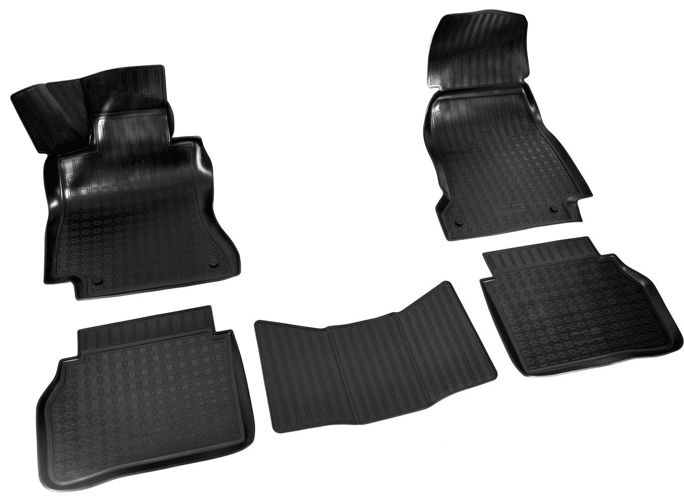 Коврики в салон автомобиля Norplast для Mercedes-Benz E (W213) (SD) 3D (2016), NPA11-C56-410, черный недорго, оригинальная цена
