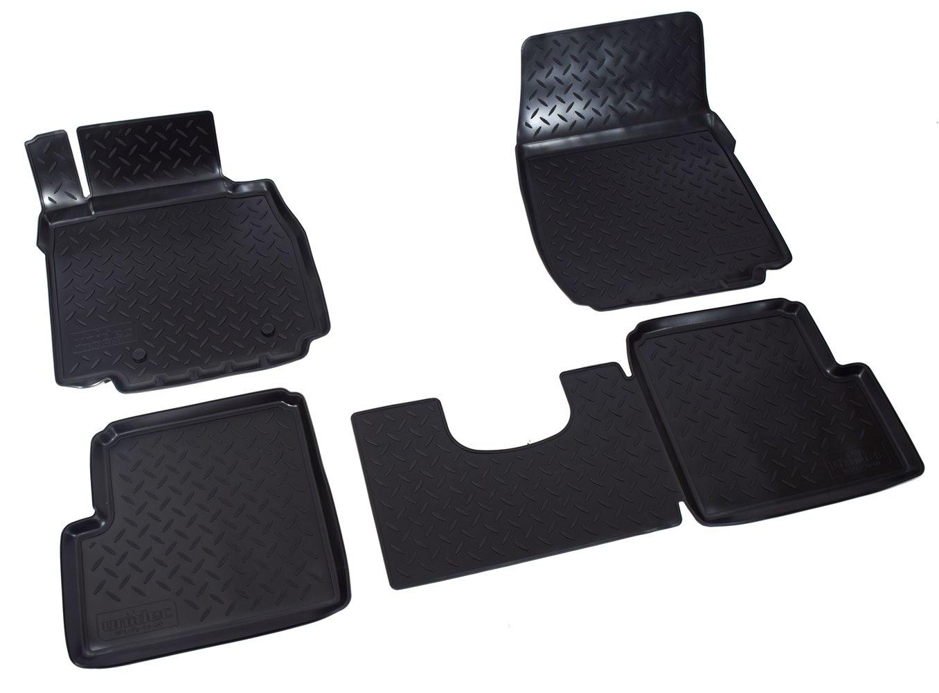Коврики в салон автомобиля Norplast для Mercedes-Benz G (W463) (1990), NPL-Po-56-60, черный g