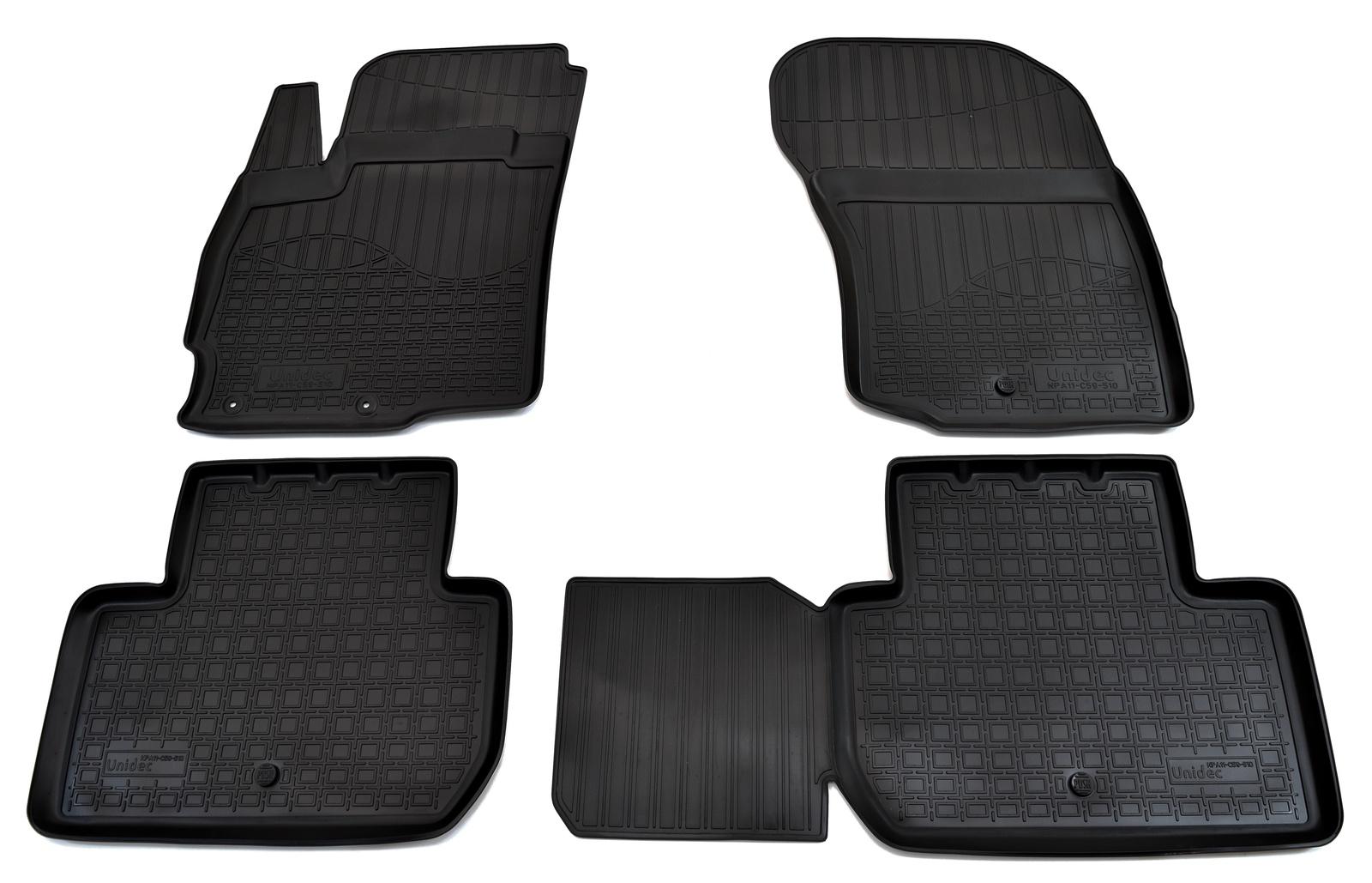 Коврики в салон автомобиля Norplast для Mitsubishi Outlander (2012), NPA11-C59-510, черный