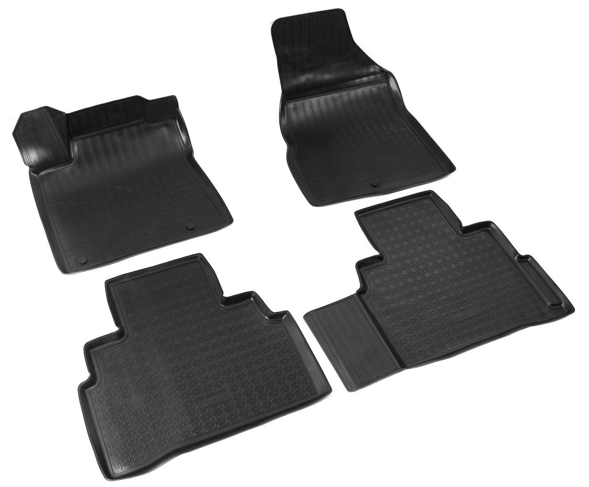 цена Коврики в салон автомобиля Norplast для Nissan Murano III 3D (2016), NPA11-C61-224, черный в интернет-магазинах
