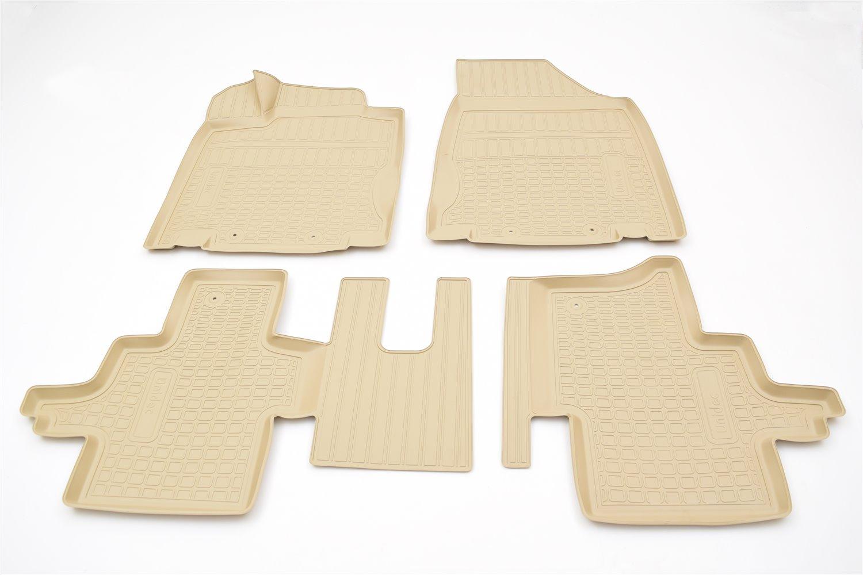 Коврики в салон автомобиля Norplast для Nissan Pathfinder (R52) 3D (2014) (5 мест), NPA11-C61-454-B, бежевый комплект адаптеров nissan pathfinder 5 dr suv 05 13 без опоры