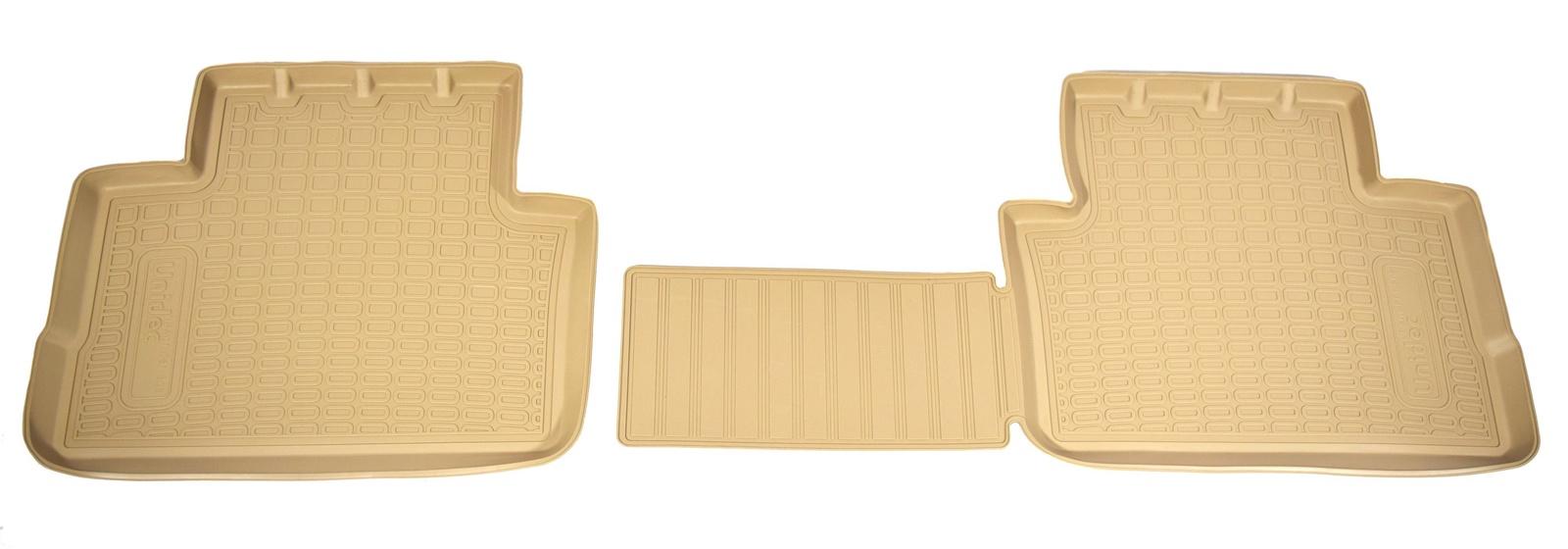 цена на Коврики в салон автомобиля Norplast для Nissan Qashqai (J11) (2014) (зад), NPA01-C61-605-B, бежевый