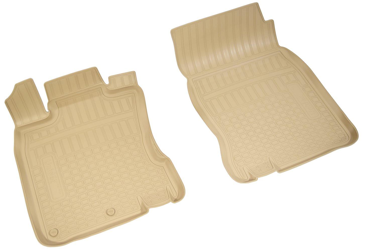 Коврики в салон автомобиля Norplast для Nissan Qashqai (J11) (2014) (пер) (английская сборка), NPA10-C61-604-B, бежевый цены