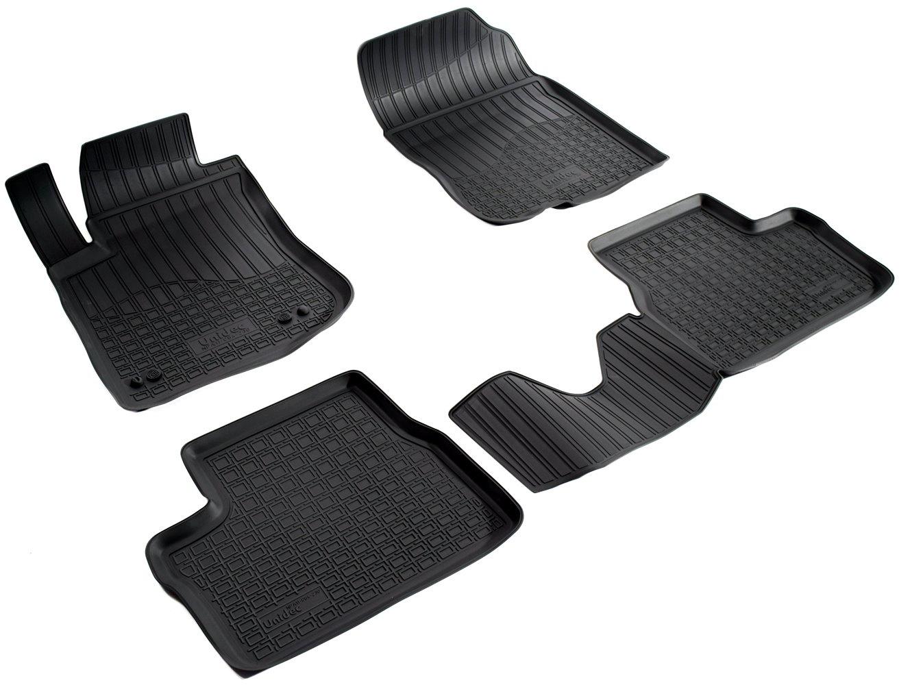 Коврики в салон автомобиля Norplast для Peugeot 2008-2013, NPA11-C64-230, черный комплект ковриков в салон автомобиля autofamily peugeot 3008 2008 универсал цвет черный