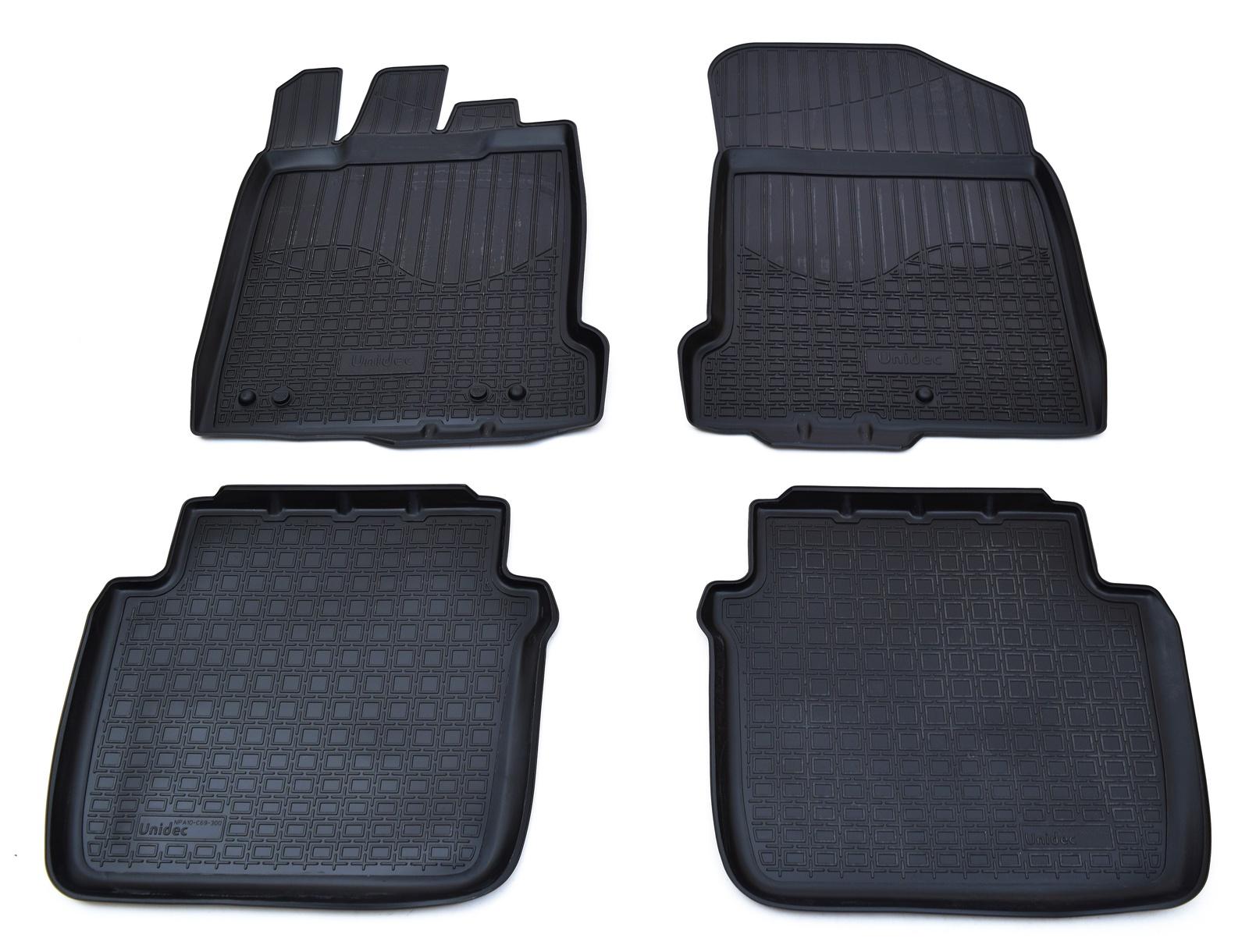 Коврики в салон автомобиля Norplast для Renault Latitude 2010, NPA10-C69-300, черный цена 2017