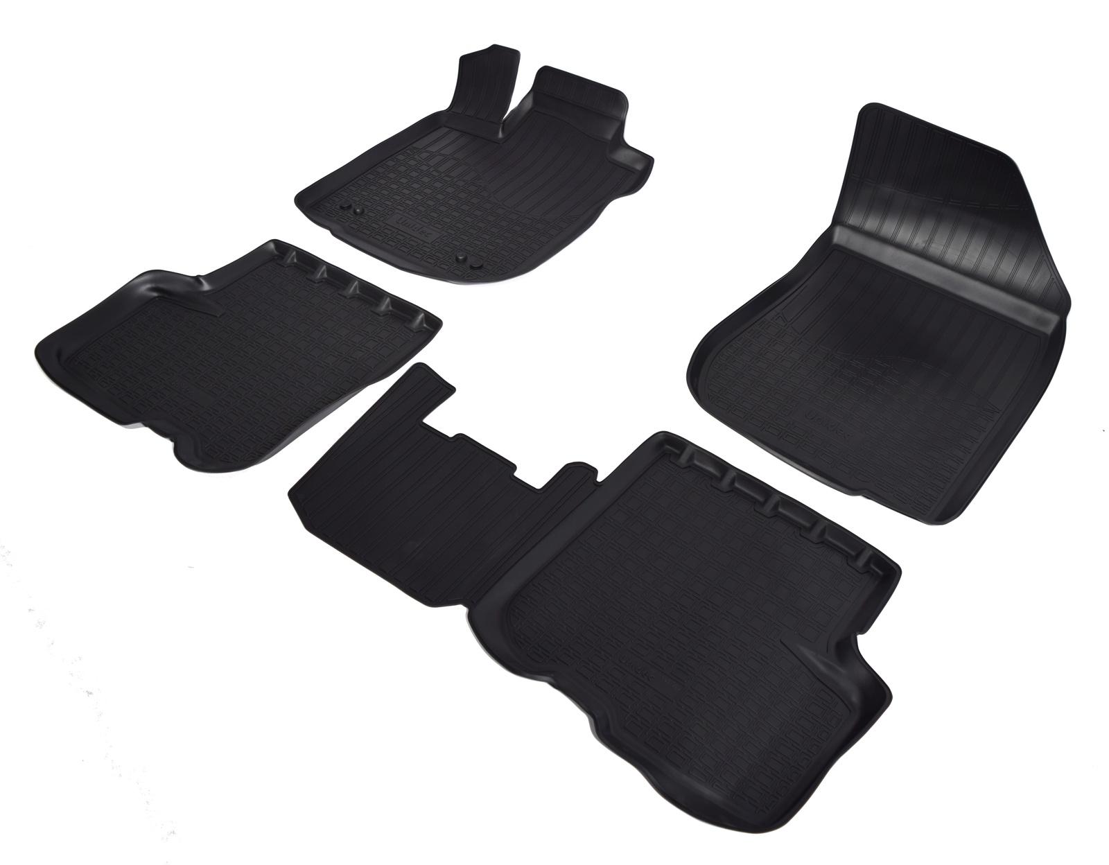 Коврики в салон автомобиля Norplast для Renault Logan L52 2014, NPA11-C69-350, черный сцепл в сб k7j logan renault 302055852r