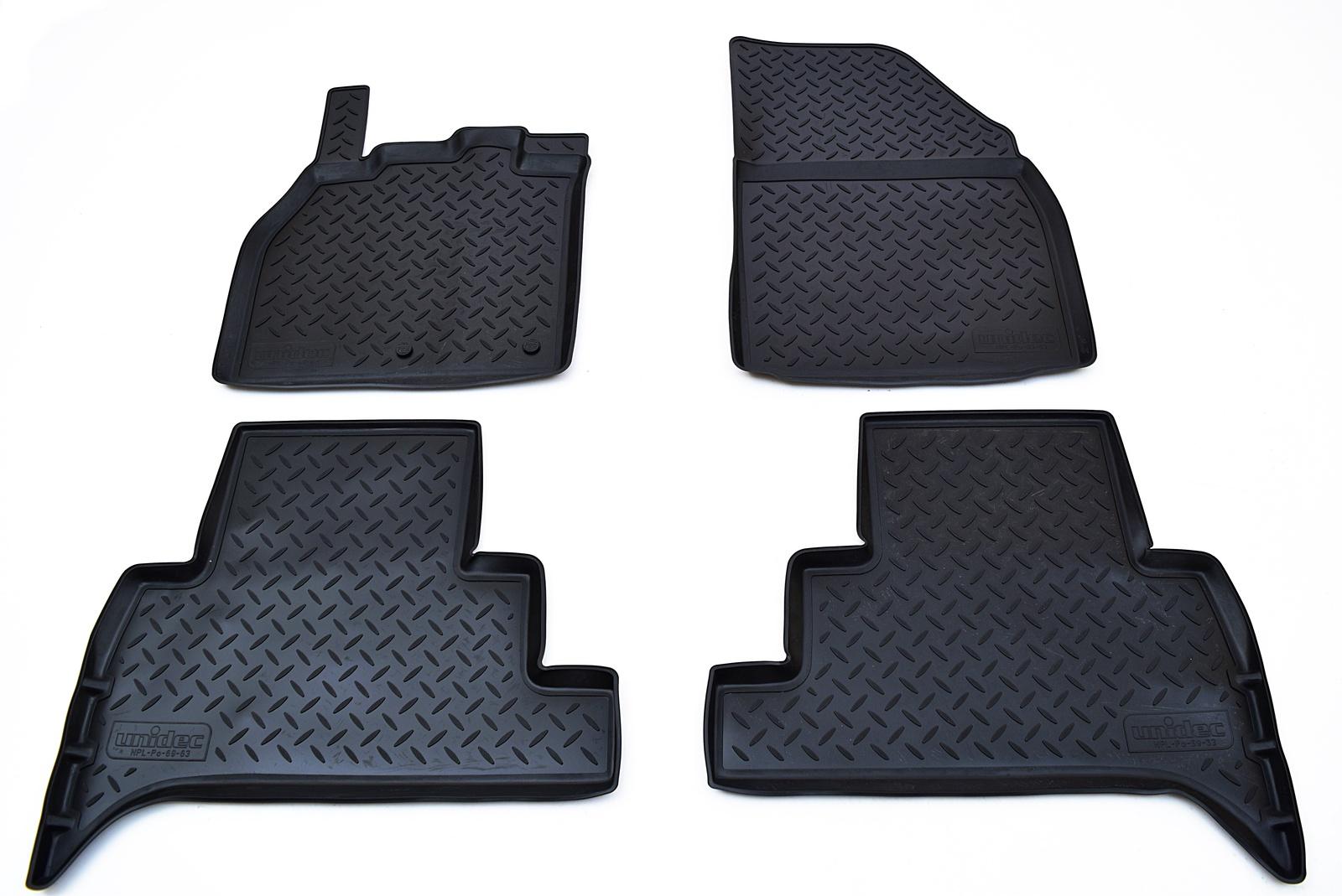 Коврики в салон автомобиля Norplast для Renault Scenic 2010, NPL-Po-69-63, черный недорго, оригинальная цена