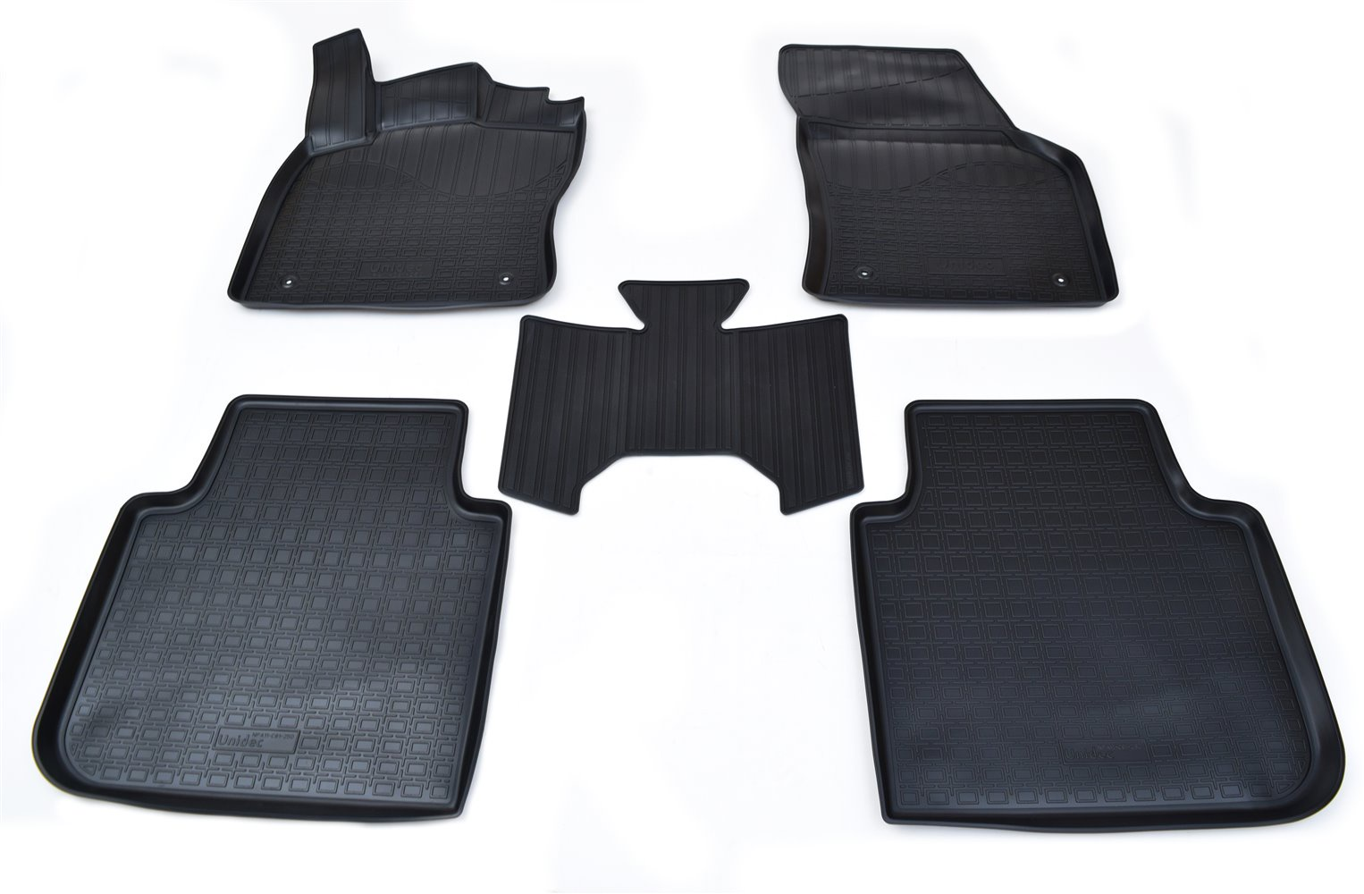 Коврики в салон автомобиля Norplast для Skoda Kodiaq 3D 2017, NPA11-C81-250, черный фильтр вентиляции салона для skoda kodiaq 2017