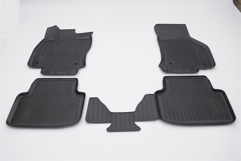 Коврики в салон автомобиля Norplast для Skoda Octavia III A7 3D 2013, NPA11-C81-401, черный недорго, оригинальная цена
