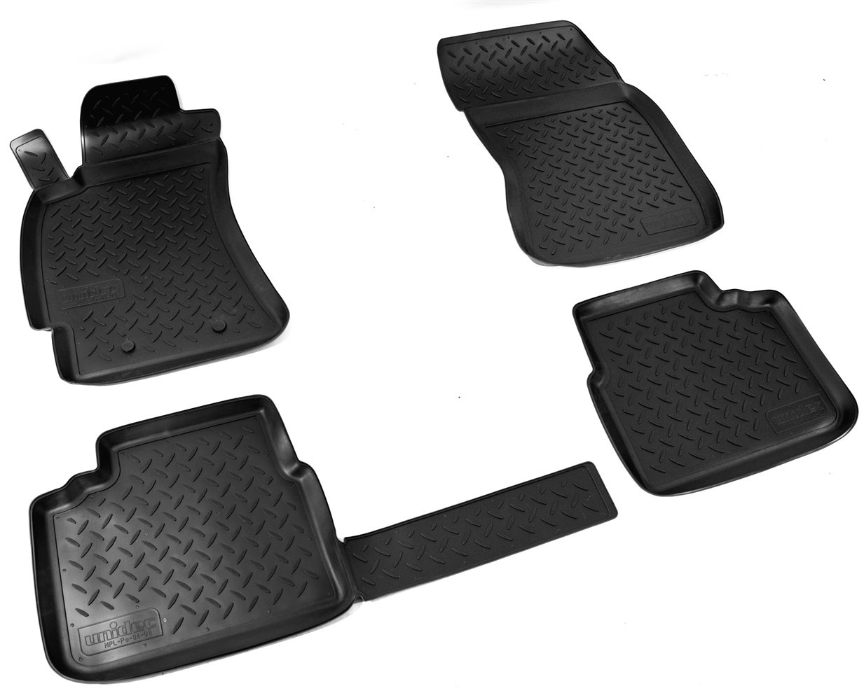 Коврики в салон автомобиля Norplast для Subaru Forester 2008-2013, NPL-Po-84-08, черный барбекю сферический forester 5300 3s