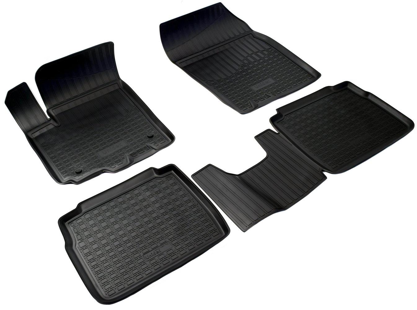 Коврики салона Norplast для SUZUKI SX4 2014, NPA11-C85-700, черный цены
