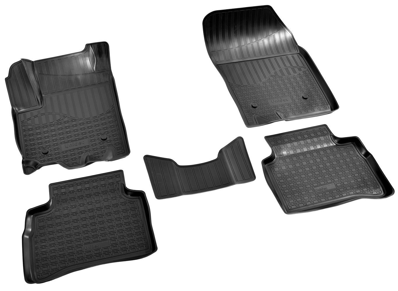 Коврики салона Norplast для Suzuki Vitara 3D 2015, NPA11-C85-750, черный коврик на торпеду для телефона для suzuki new vitara 2015