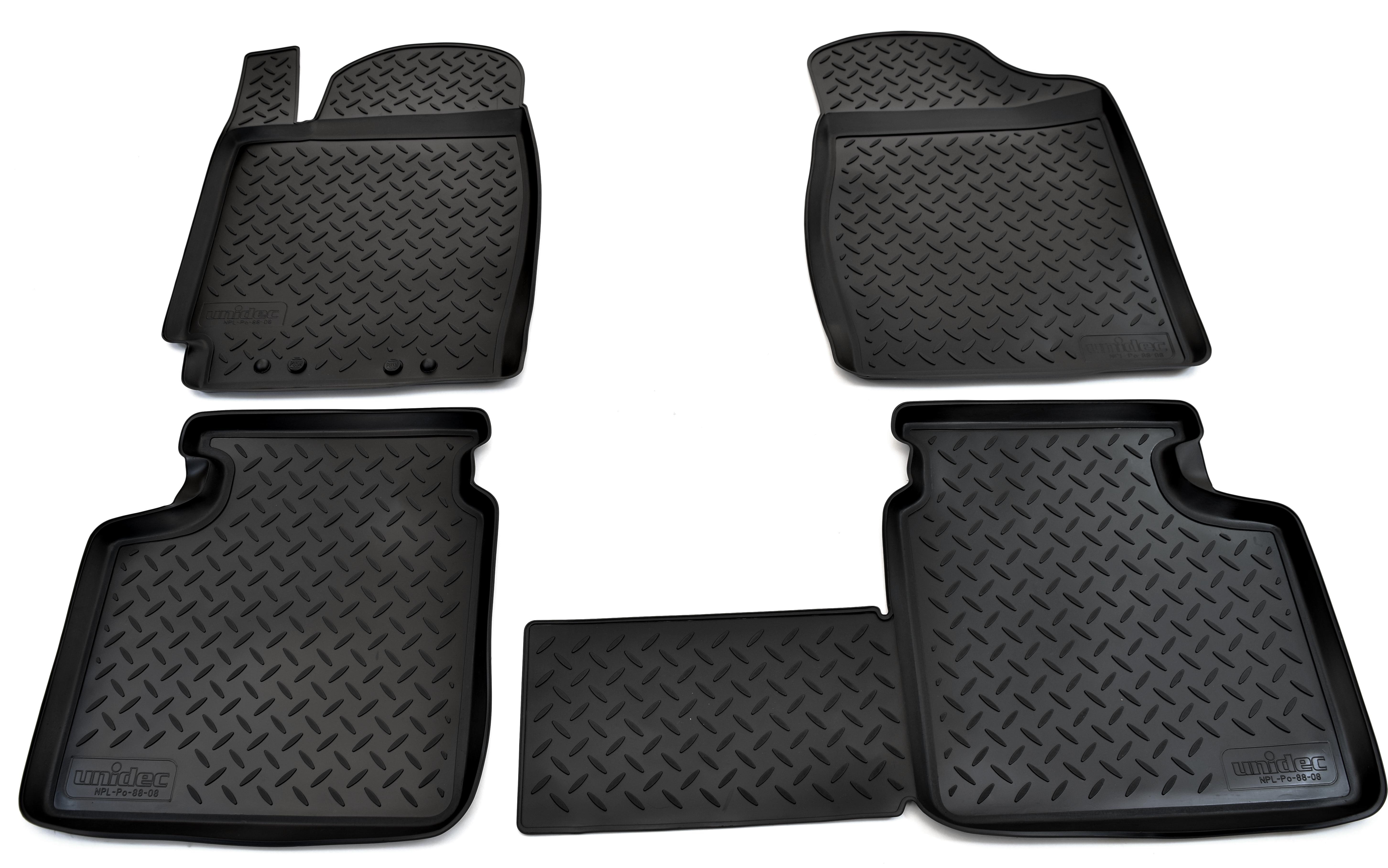 Коврики салона Norplast для Toyota Camry V30 2001-2006, NPL-Po-88-08, черный полотенца philippus комплект махровых полотенец philippus smart cotton malta 50 90 см 6 шт