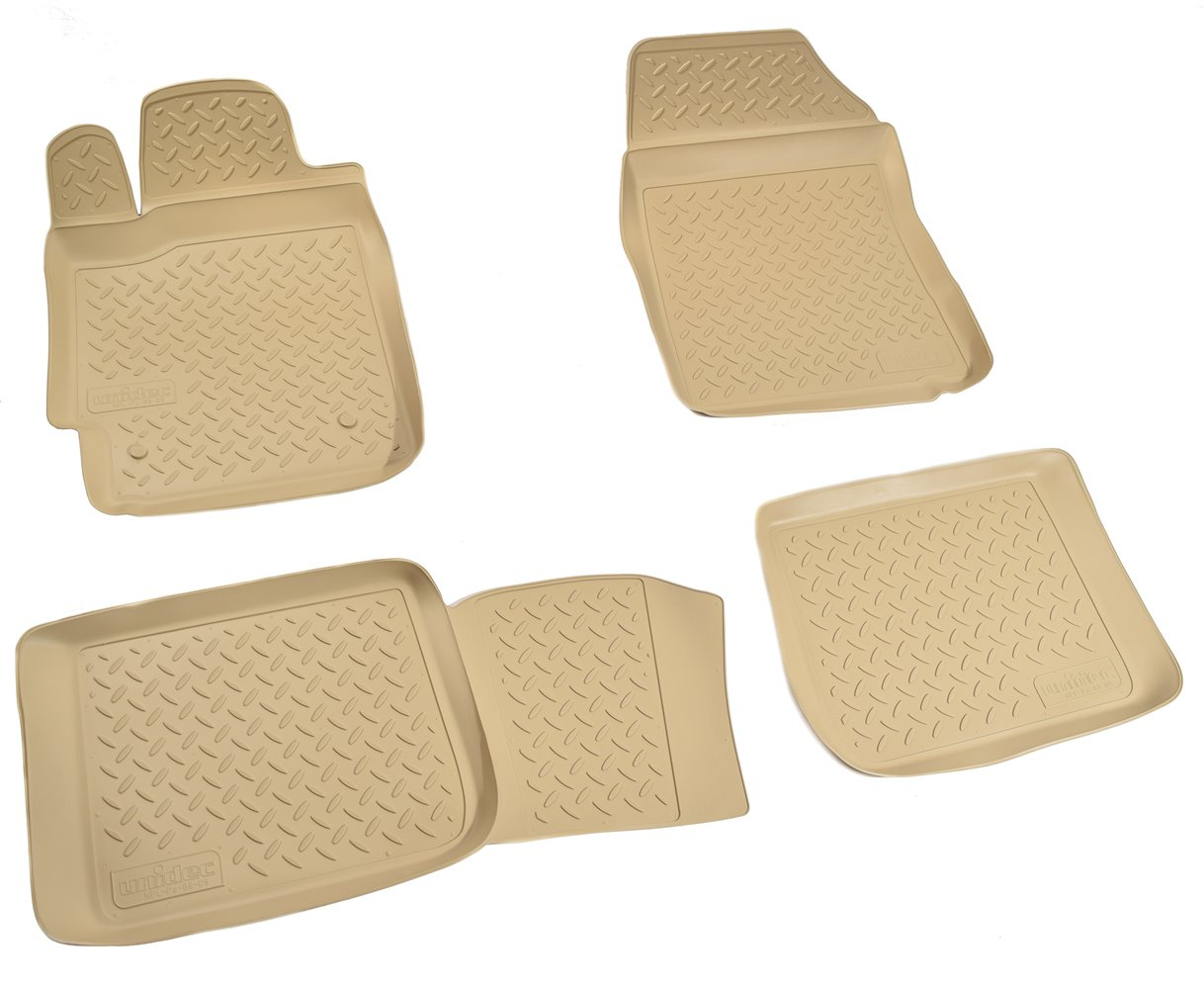 Коврики салона Norplast для Toyota Camry V40 2006-2011, NPL-Po-88-09-B, бежевый