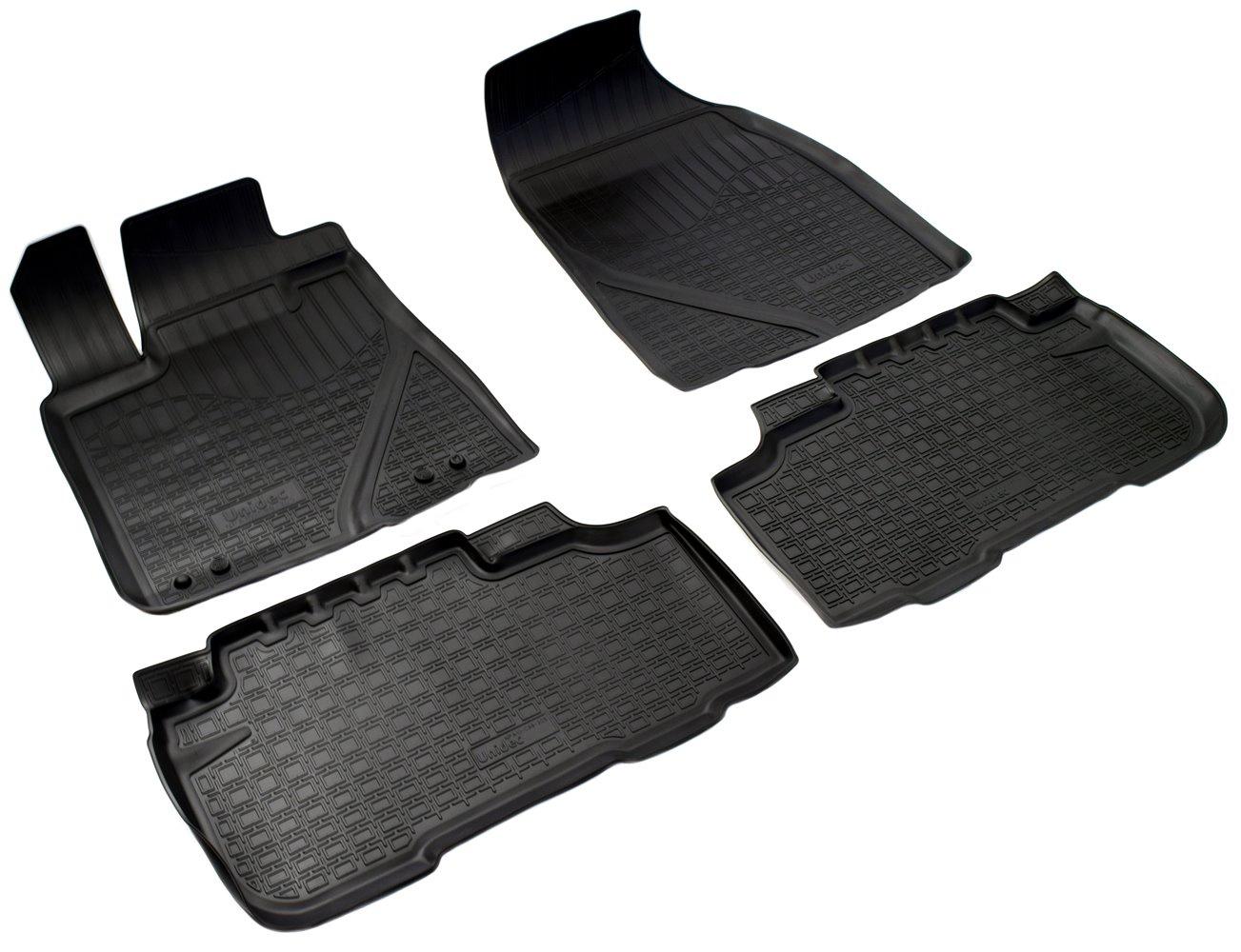 Коврики салона Norplast для Toyota Highlander 2014, NPA10-C88-305, черный wiper blades for toyota highlander 26