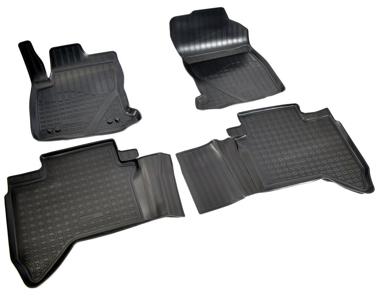 Коврики салона Norplast для Toyota Hilux 2015, NPA11-C88-360, черный yaopei new 28551 0t010 modulo central eletrica for 2015 toyota hilux 28436027