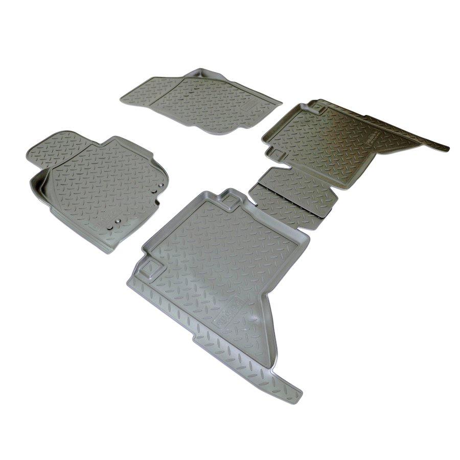 Коврики салона для Toyota Hilux (N2) (2011-2015) коврики салона rival для toyota rav4 2013 2015 2015 н в резина 65706001