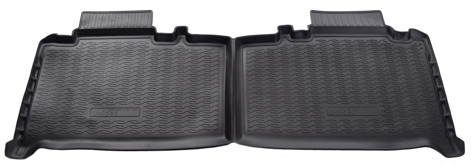 Коврики салона Norplast для UAZ Patriot 2014/UAZ Pickup 2014, NPA00-C93-505, черный