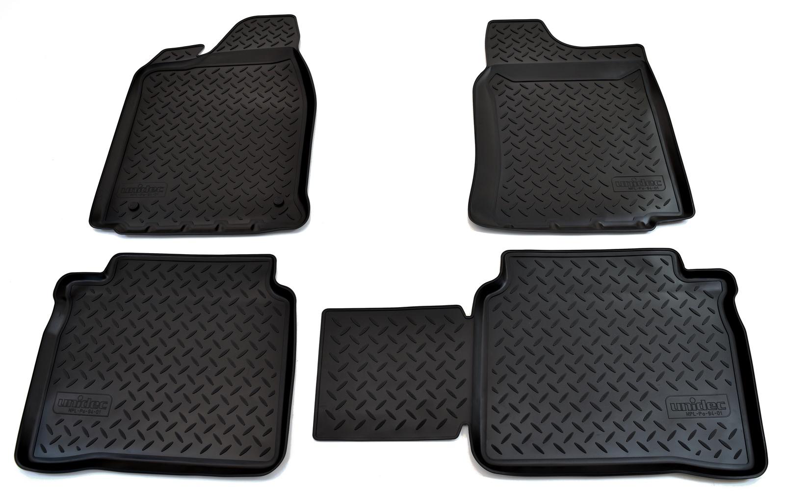 цена на Коврики салона Norplast для VAZ 2101-2107, NPL-Po-94-01, черный