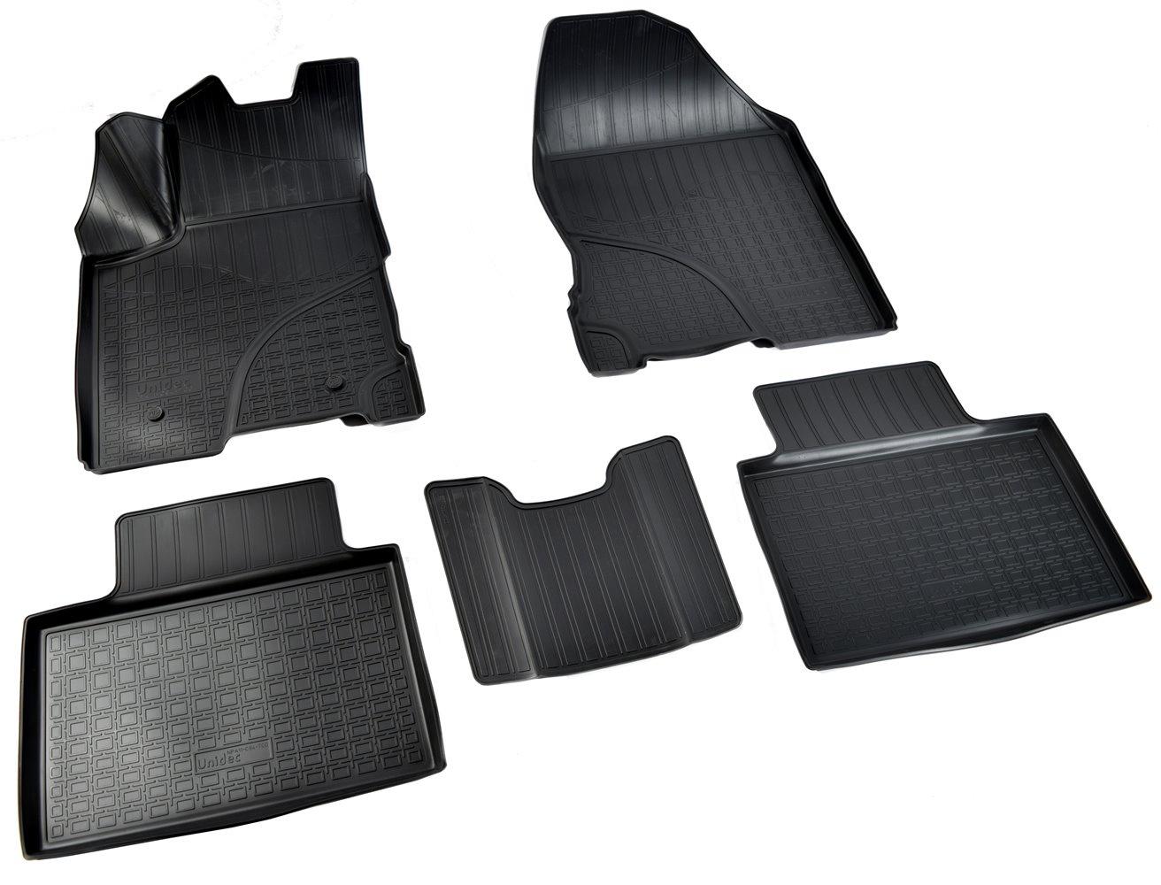 Коврики салона Norplast для VAZ Lada Vesta 3D 2015, NPA11-C94-700, черный цена