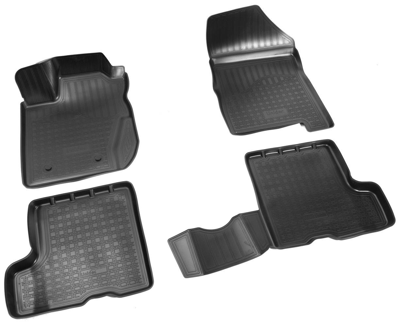 Коврики салона Norplast для VAZ Lada X-Ray 3D 2015, NPA11-C94-751, черный коврики салона rival для toyota rav4 2013 2015 2015 н в резина 65706001