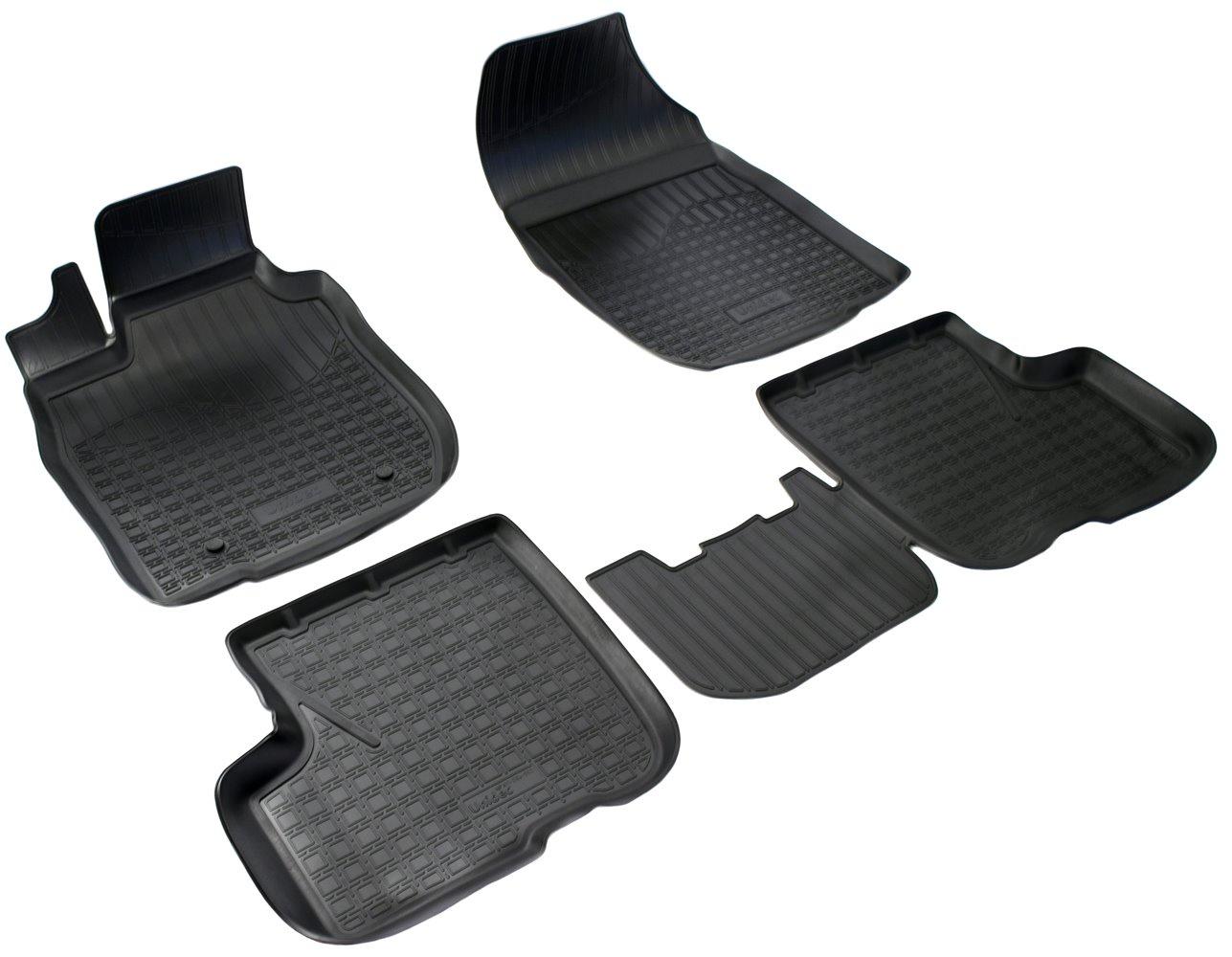 Коврики салона Norplast для VAZ Largus BO 2012, NPA11-C94-550, черный коврик в багажник lada largus 7 мест 2012