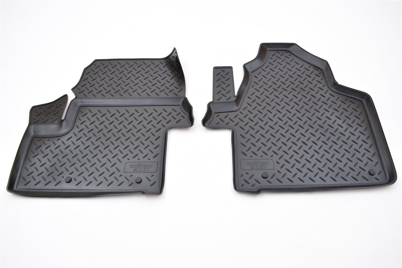 цена на Коврики в салон автомобиля Norplast для Volkswagen Crafter (2006) (пер), NPL-Po-95-11, черный