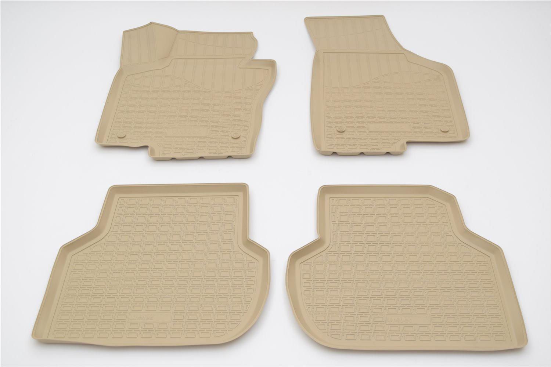 Коврики в салон автомобиля Norplast для Volkswagen Jetta 3D (2015), NPA10-C95-245-B, бежевый vi j31 iw