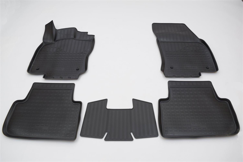 Коврики в салон автомобиля Norplast для Volkswagen Tiguan II 3D (2016), NPA11-C95-653, черный коврики салона 3d lux велюровые st 74 00635 для volkswagen tiguan 2017