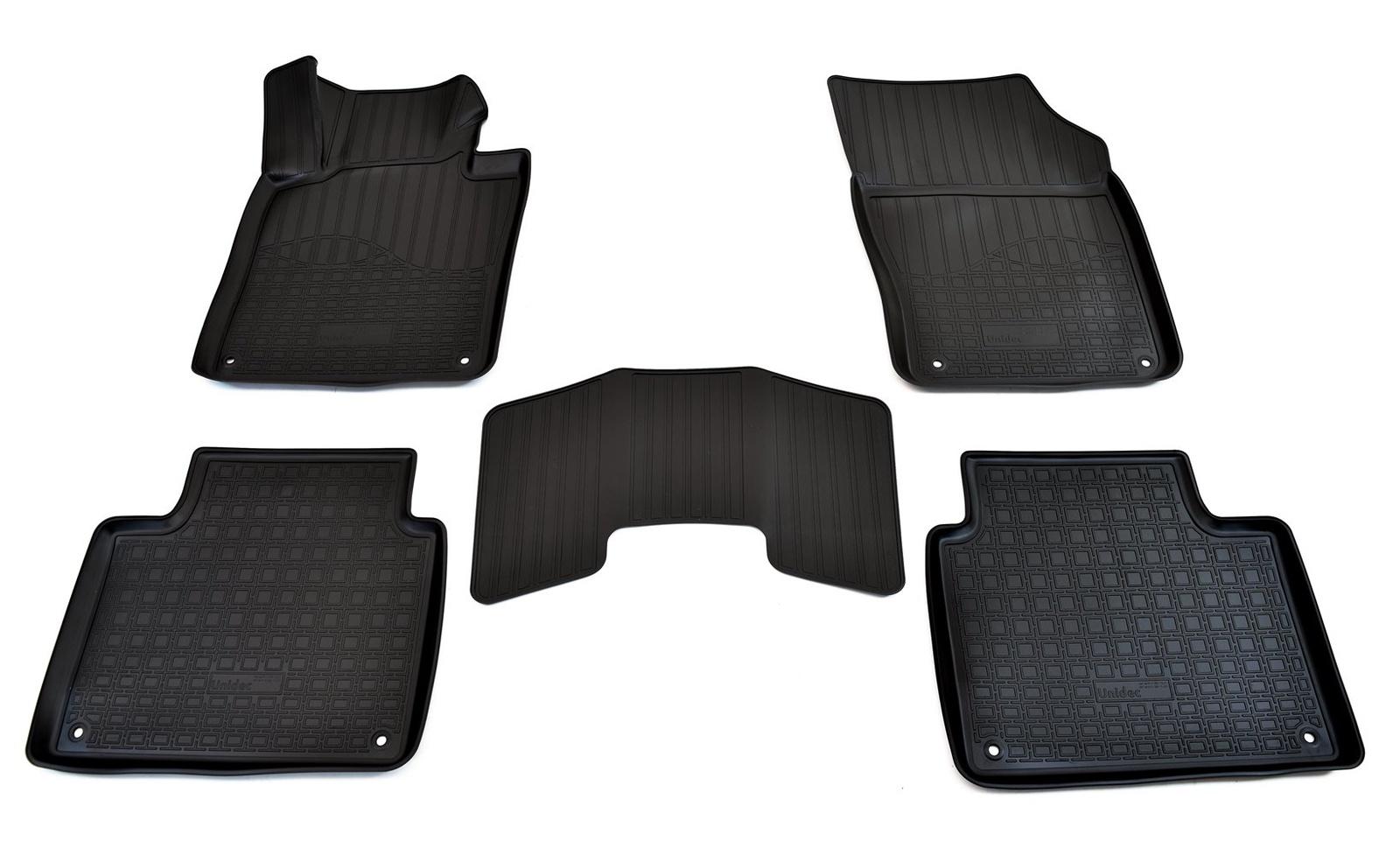 Коврики в салон автомобиля Norplast для Volvo V90 3D (2016), NPA11-C96-520, черный