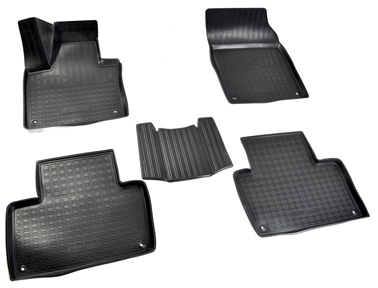 Коврики в салон автомобиля Norplast для Volvo XC90 3D (2015) (5 мест), NPA11-C96-780, черный декоративные салонные накладки chn для volvo xc90 2006 2014