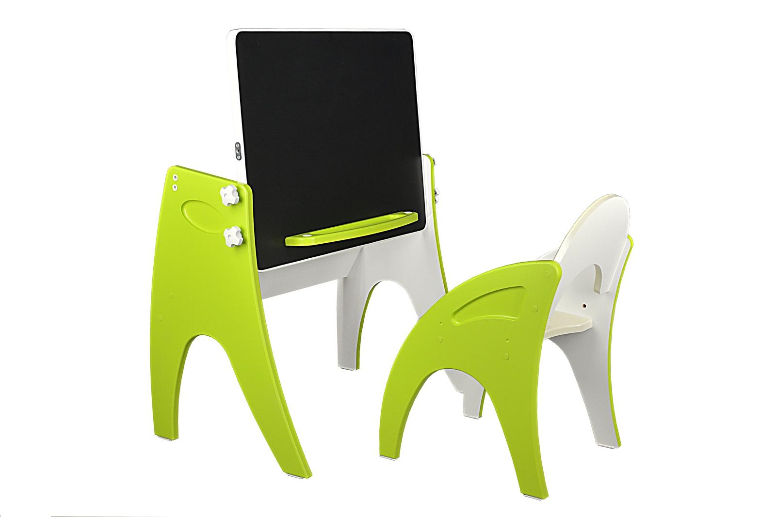 Набор детской мебели Интехпроект ТРАНСФОРМЕР, светло-зеленый набор детской мебели интехпроект трансформер розовый