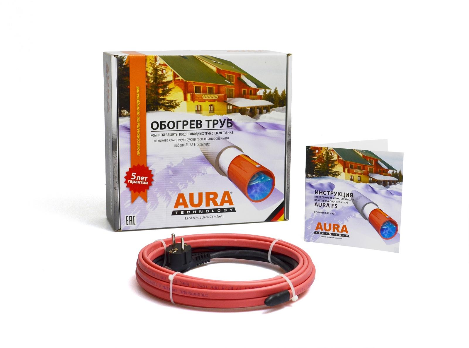 Греющий кабель AURA FS 17-1 цены