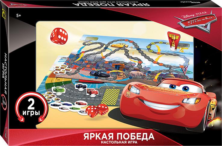 Настольная игра STEP puzzle Яркая победа. Тачки, 92106 настольная игра step puzzle набор игр 55 лучших игр мира