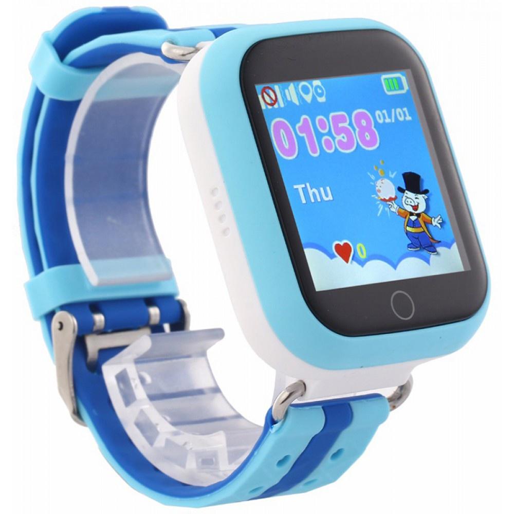Умные GSM часы для детей ZDK Q750, голубой