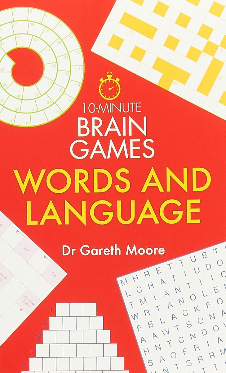 лучшая цена 10-Minute Brain Games: Words and Language