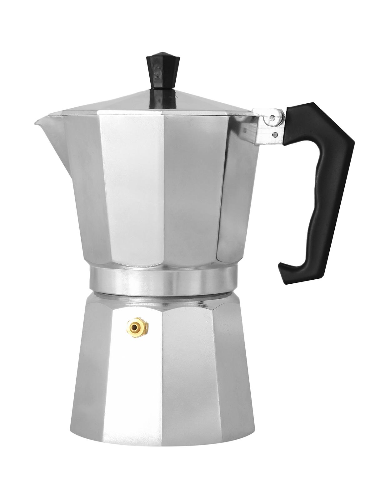 Гейзерная кофеварка ITALCO EXPRESS, Алюминий гейзерная кофеварка italco express алюминий