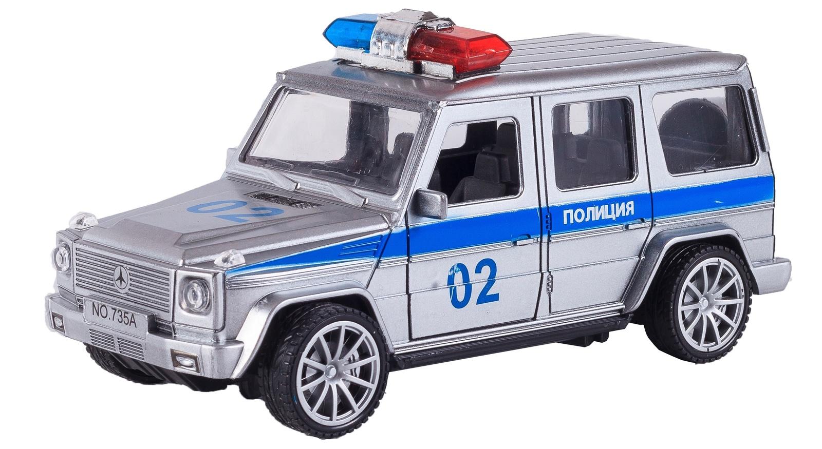 Машинка S+S Полиция, 200030603 машины s s toys машинка радиоуправляемая мега драйв