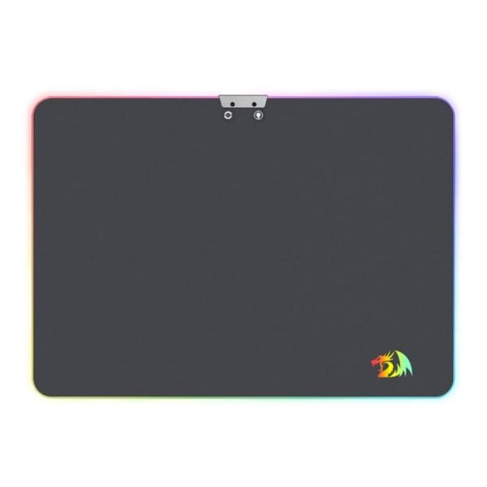 Игровой коврик для мыши Redragon Aurora Подсветка,350x250x3.6,металл игровой коврик для мыши archelon m 300х260х5 мм ткань резина redragon
