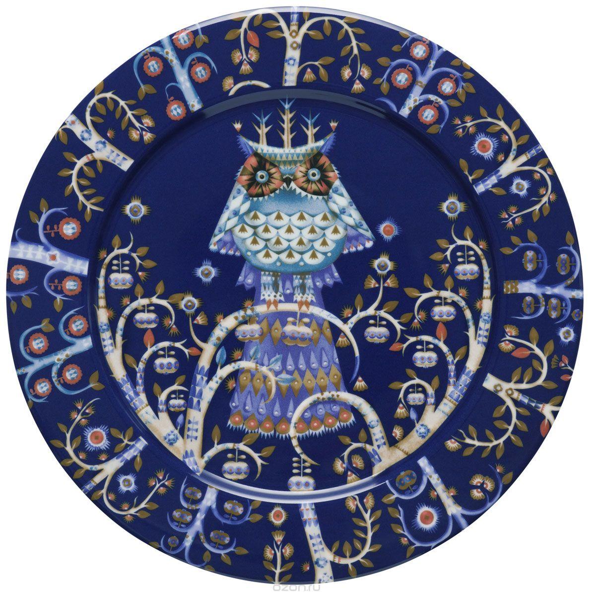 Тарелка Iittala Taika, 1011635, диаметр 27 см iittala тарелка taika