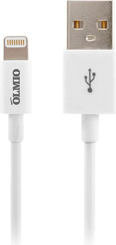 Кабель Partner MFI, USB 2.0 - Apple iPhone/iPod/iPad 8pin, ПР033368, белый, 1 м кабель usb 2 0 apple iphone ipod ipad 8pin 1м partner