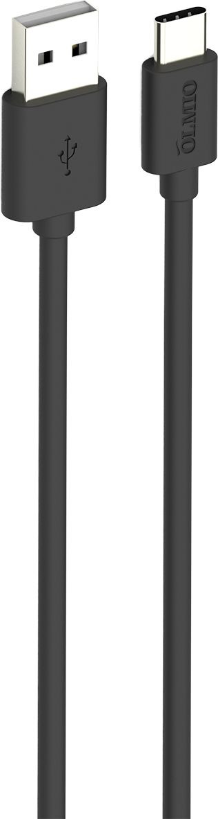 Кабель Olmio, USB 2.0 - USB Type-C, ПР038773, черный, 1 м аксессуар olmio usb usb type c 1m black пр038773