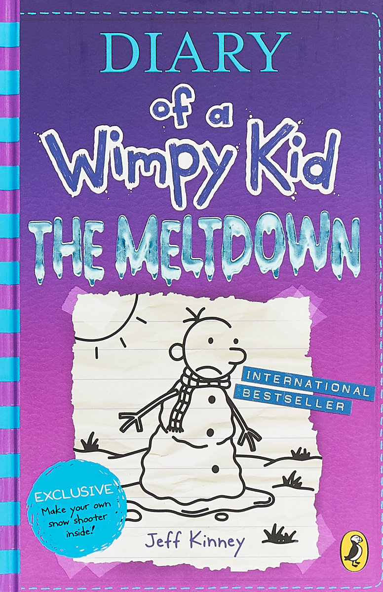 Diary of a Wimpy Kid: Book 13: The Meltdown oliver fibbs 3 the abominable snow penguin