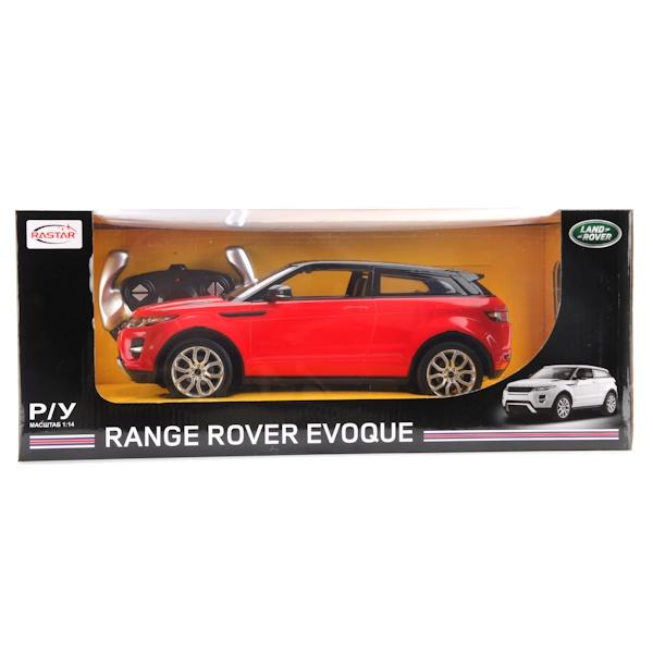 Машинка Rastar МАШИНА Р/У RASTAR RANGE ROVER EVOQUE 1:14 СО СВЕТОМ, 178530 красный цена