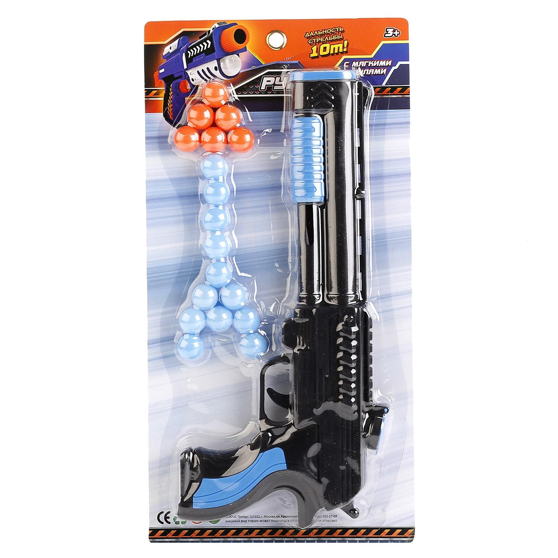 Игрушечное оружие Играем вместе Пистолет, 238647, разноцветный ружье играем вместе ружье с шариками синий серебристый b1493578 r