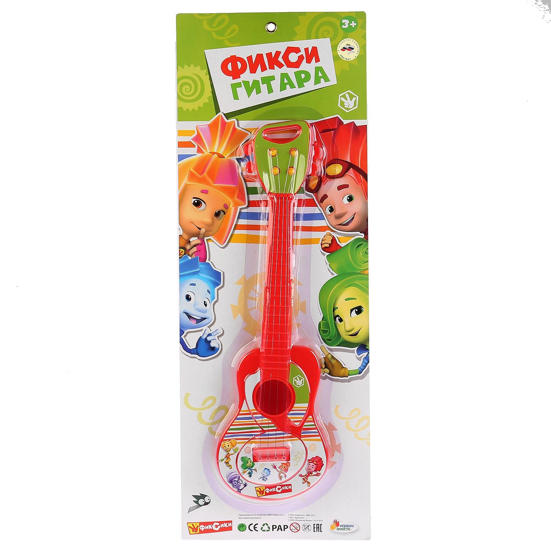 Детский музыкальный инструмент Играем вместе Гитара Фиксики, 258955 детский музыкальный инструмент играем вместе труба фиксики b782628 r1