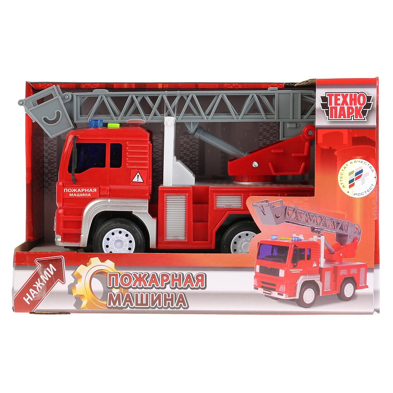 Машинка Технопарк Пожарная Машина, 258646 игрушка технопарк пожарная машина 251a1 r